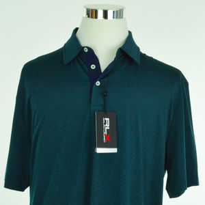RLX GOLF Ralph Lauren Mens Polo Shirt XL Green